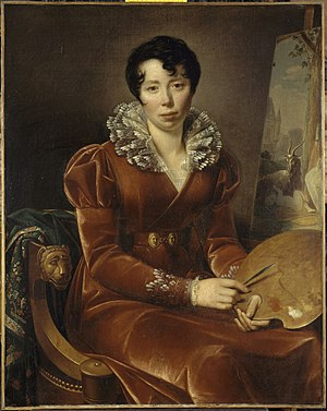 Henriette Lorimier - Self-Portrait (1807) Museum of Dijon