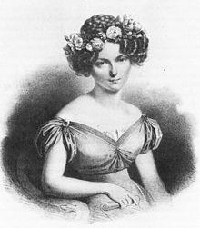 Henriette Sontag um 1825 (Quelle: Wikimedia)