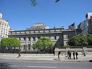 Henry Clay Frick House - The main façade on Fifth Avenue