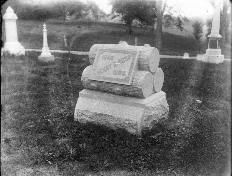 File:Henry G. Ross gravestone n.d. (3194680223).jpg