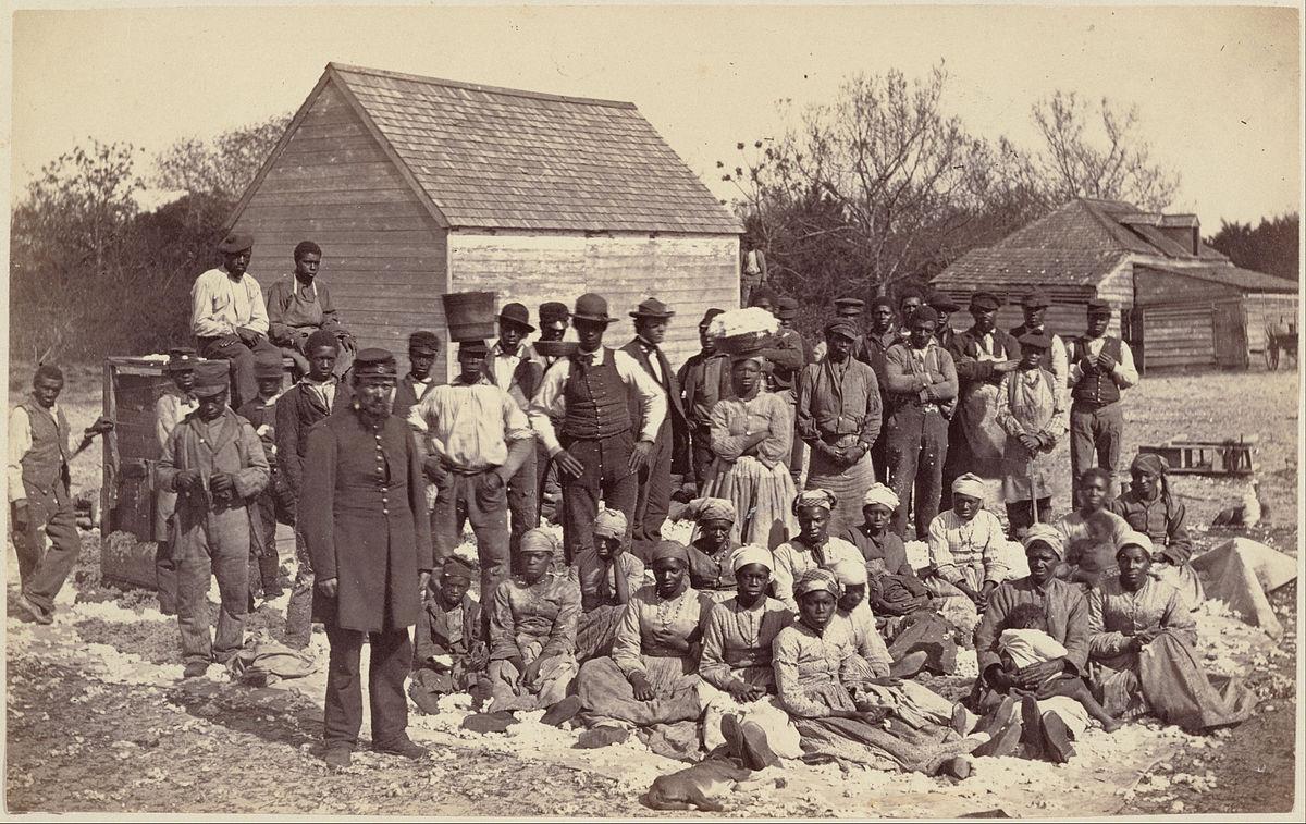 Henry Moore Slave Family of Gen. Drayton