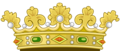 Heraldic Royal Crown of Spain (1400-1497).png