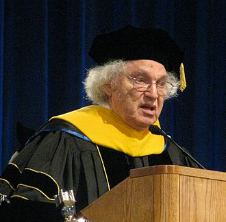 Hauptman-Woodward Medical Research Institute - Herbert Hauptman at University of Buffalo graduation in 2009