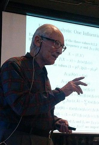 Herman Chernoff - Herman Chernoff speaking in New York on October 6, 2015