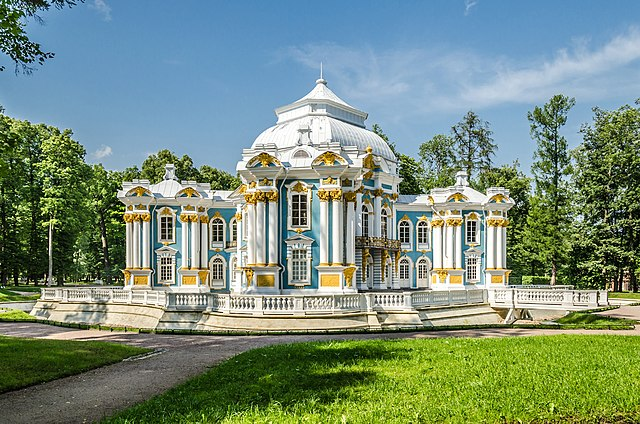 Hermitage pavilion in Tsarskoe Selo, Saint Petersburg