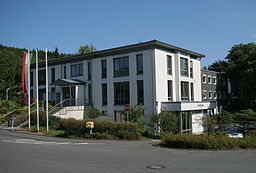 Rathaus in Herscheid.