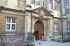 Hertford College, Oxford - Entrance to Hertford College