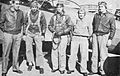Hicks Field - Fairchild PT-19 Cadets with Instructor Standing.jpg