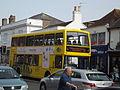 High Street, Christchurch - Yellow Bus - route 1b (9248731571).jpg