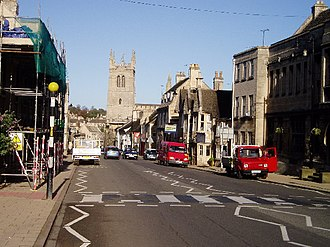 Stamford, Lincolnshire - High Street, St Martin's