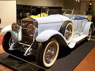 Hispano-Suiza H6 - Hispano-Suiza 1924 H6B Million-Guiet Dual-Cowl Phaeton