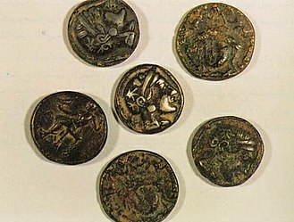 Arabian Peninsula - Ancient coins from Failaka Island, Kuwait