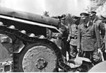 Hitler, Himmler and Wolff looking at destroyed Char B1 tank, 1940.jpg
