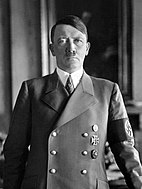 Portrait of Adolf Hitler, standing