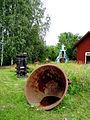 Hofors hembygdsgård, Föremål från bruket.jpg