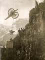 Hoisting war material up mountains to the Italian Front.png