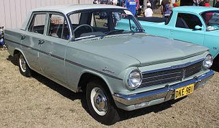Holden EH Automobile produced by General Motors-Holden in Australia from 1963 to 1965