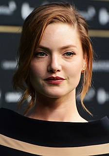 Holliday Grainger English actress