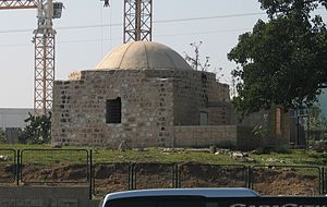 Yazur - Maqam (shrine) of Shaykh al-Katanani, 2008