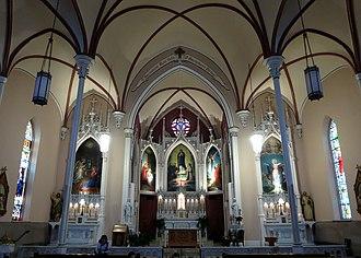Immaculata Church - The church interior.