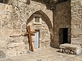 Holy Sepulchre cross.JPG