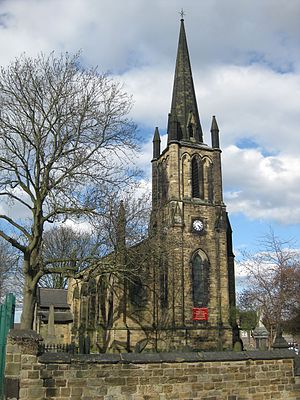 Elsecar - Image: Holy Trinity Church Elsecar March 2017