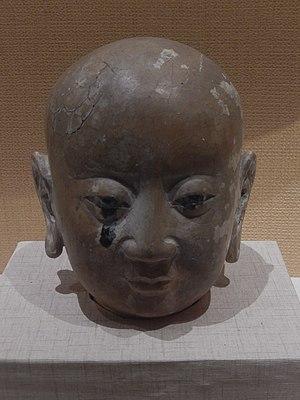 Tangut people - Image: Hongfo Pagoda Arhat head