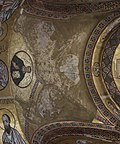 Hosios Loukas (narthex) - South ceiling 01.jpg