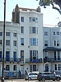 House with EU flag at Old Steine in Brighton in July 2018.jpg
