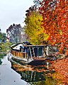 Houseboat @ Chinar Bagh Garden, Srinagar, Kashmir - panoramio.jpg