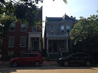 Libby Hill, Richmond - Houses on Libby Hill