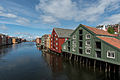 Houses on Nidelva Riverfront, Trondheim, West view 20150605 2.jpg