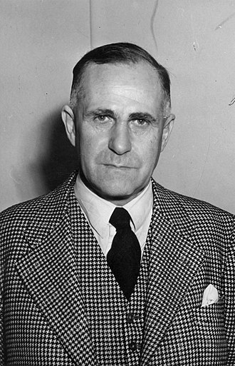 Howard Kippenberger - Portrait of Howard Kippenberger in 1952
