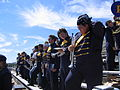 Howard Payne Band at Gordon Wood Stadium.jpg