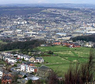 Huddersfield Town in West Yorkshire, England