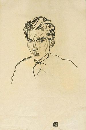 Hugo Sonnenschein - Hugo Sonnenschein (Egon Schiele,1917