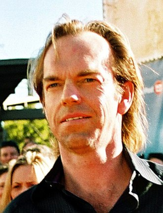 Hugo Weaving - Weaving at The Lord of the Rings: The Return of the King premiere, December 2003