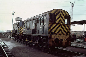 British Rail Class 13 - 13003 at Tinsley TMD