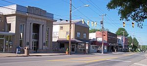 Hurricane, West Virginia - Main Street in Hurricane in 2007