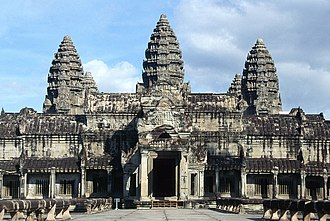 Temple - Angkor Wat in Cambodia, is the largest Hindu temple in the world.