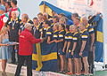 ICF World Dragon Boat Championships 2014 Master Mixed 2000 Meter Medal Ceremony.JPG