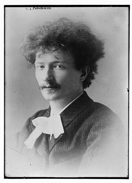 IJ Paderewski young man