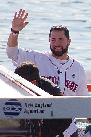 John McDonald (infielder) - McDonald during the 2013 World Series victory parade