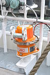 IMO 9185554 STAD AMSTERDAM (10) JRC Protective capsule unit Model NDH-316A for JCY-1800 Voyage Data Recorder.JPG