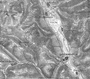 Battle of Tauberbischofsheim - Battlefield of Bischofsheim and Werbach