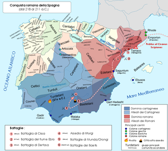 Battle of the Upper Baetis - Roman operations in Spain, 218–211 BC. Included are several probably ahistorical engagements.