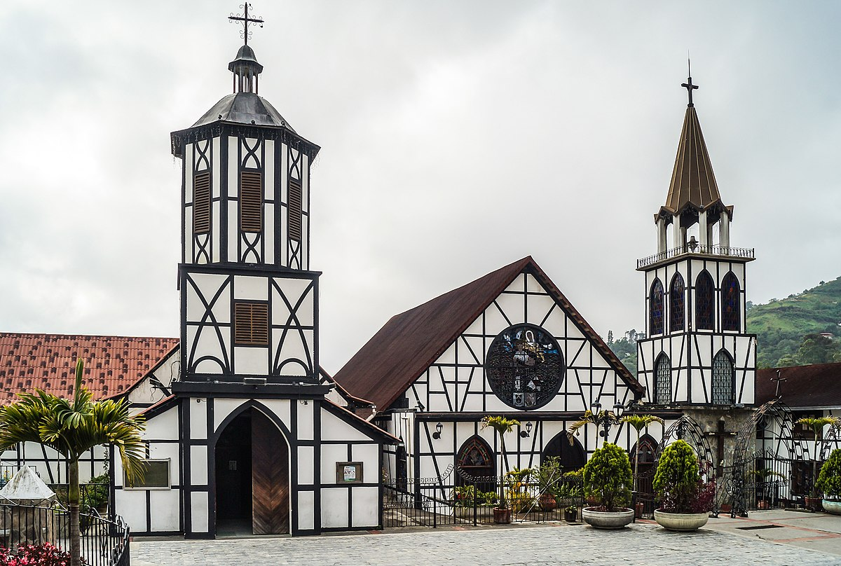 Iglesia de San Martín de Tours (Colonia Tovar) - Wikipedia, la ...