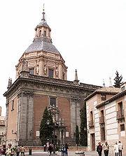 PROPUESTAS DE RULADA DE LA COMUNIDAD DE MADRID - DOMINGO 8 DE MARZO 180px-Iglesia_de_San_Andr%C3%A9s_%28Madrid%29_01