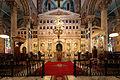Ikonostase der griechisch-orthodoxen Kathedrale Evangelismos, Alexandria, Ägypten.jpg