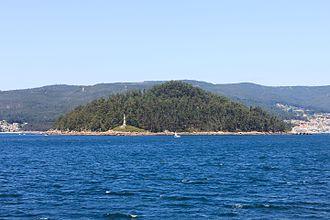 Rías Baixas - Tambo island in the Ría of Pontevedra